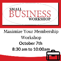 Maximize Your Membership // Sponsored By: Lewis Cooper Jr. Memorial Library