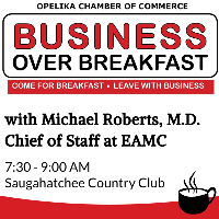 Business Over Breakfast with EAMC // Sponsored by: Glynn Smith Chevrolet