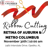 Retina of Auburn & Metro-Columbus Ribbon Cutting