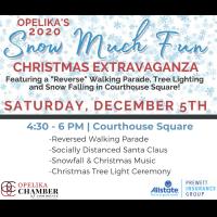 Opelika's 2020 Snow Much Fun Extravaganza // Sponsored by Allstate Insurance: Prewett Insurance Group