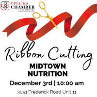Midtown Nutrition Ribbon Cutting