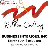 Business Interiors, Inc Ribbon Cutting