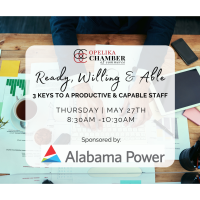 Ready Willing & Able: 3 Keys to a Productive & Capable Staff
