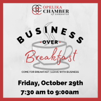 Business Over Breakfast with the Safety Shane's: Opelika Fire Chief, Shane Boyd & Opelika Police Chief, Shane Healey // Sponsored by:  Glynn Smith Chevrolet Buick GMC