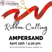 Ampersand Ribbon Cutting