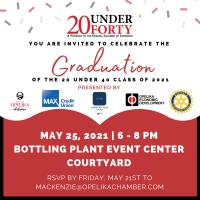 20 Under 40 Graduation