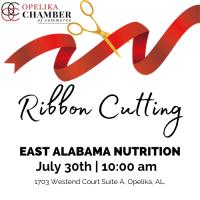 East Alabama Nutrition Ribbon Cutting