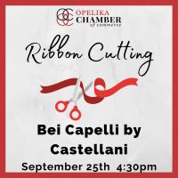 Bei Capelli by Castellani Ribbon Cutting