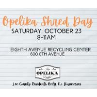 Opelika Shred Day