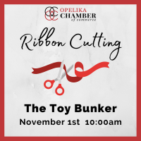 The Toy Bunker Ribbon Cutting