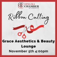 Grace Aesthetics & Beauty Lounge Ribbon Cutting
