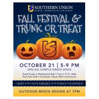 Southern Union Fall Festival & Trunk or Treat