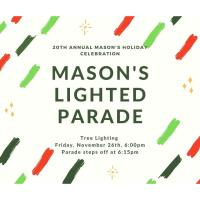 Mason Holidays Celebration - Tree Lighting & Lighted Parade 2021