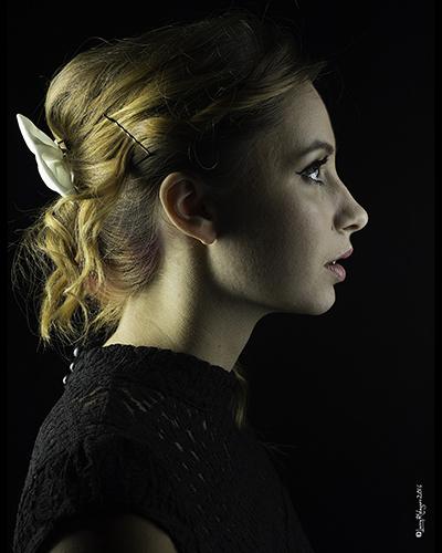Beauty portraits in my studio