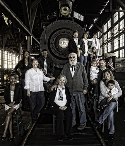 Family portrait - shot in a setting of your choice