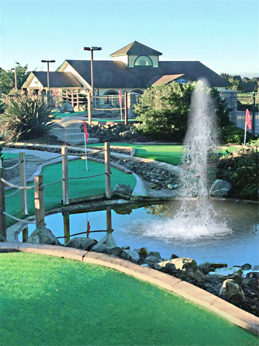 18 Hole Mini golf course onsite. Free to guests who book directly.