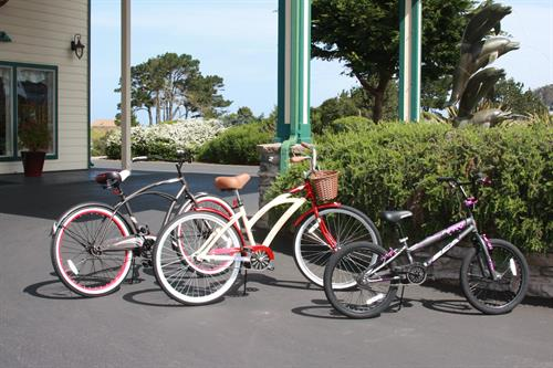 Bike rentals for our guests