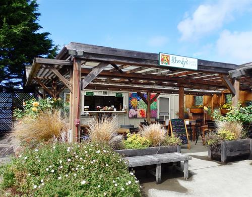 Fresh, locally sourced, and organic, Rhody's is the place to go for lunch.