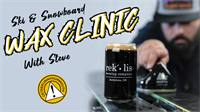 Ski and Snowboard Wax Clinic at Rek'-lis