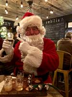 Santa Comes to Rek'-lis Brewing Co.