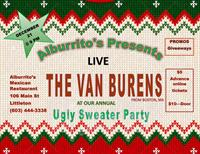 THE VAN BURENS & Our Annual Ugly Sweater Party @ ALBURRITO'S