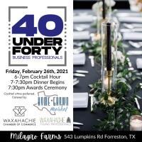 40 Under 40 Celebration Dinner
