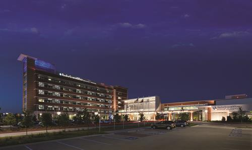 Baylor Scott & White Medical Center - Waxahachie night shot