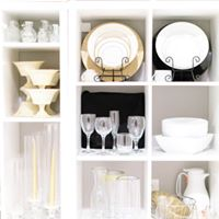 China, Glassware and Flatware Rentals