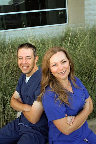 Dr. Tracy Glass & Dr. Gregory Kroeger