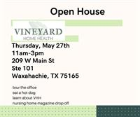 Open House- Vineyard Home Health