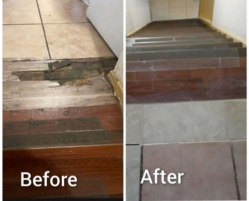 Tile & Step Repair