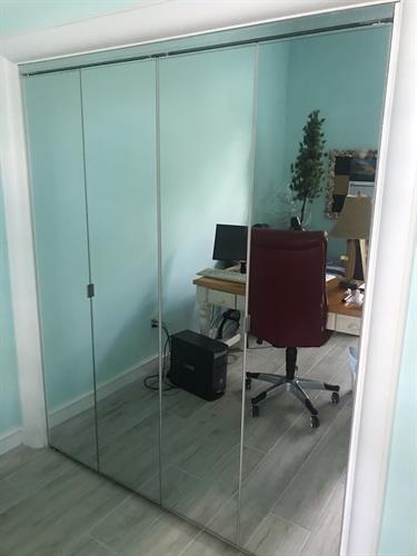 Custom Glass Door Installation