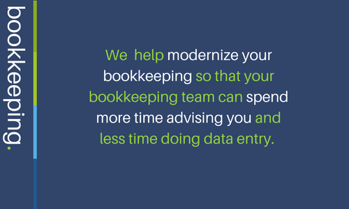 Modernizing Bookkeeping so we can spend time advising our clients. With access to more than 500 applications we can streamline your bookkeeping.