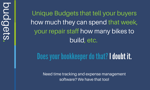 Our budgets are unique to Red Bench. Our budgets can keep your business spending on track so you don't use your gut feeling to buy. Our data can help advise your business with staffing, sales forecasting and cash flow spending.
