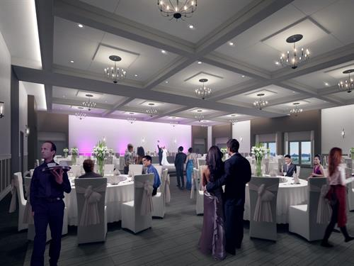Riverfront Events-Indoor Weddings Setup