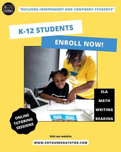 Open Enrollment for K-12 Students