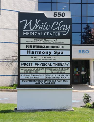 Located at the White Clay Medical  Building (By Christiana Hospital)