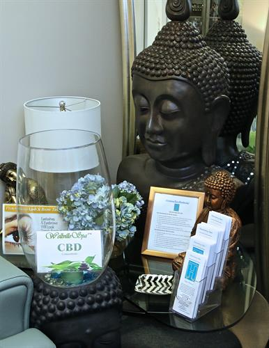 Come visit Henri our Buddha,.