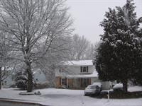 My house in Winter