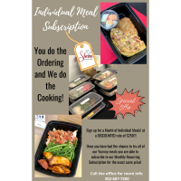 Sherm's Catering Offers Individual Meal Subscriptions!