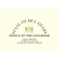 April Proclaimed Financial Literacy Month in Delaware