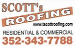 T Scott Roofing Inc. aka  Scott's Roofing