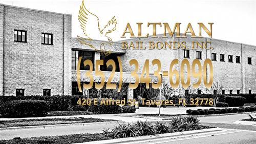 Bail Bonds service for the Tavares Jail