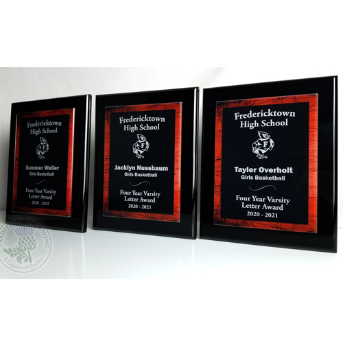 Fredericktown High School Four Year Varsity Letter Awards