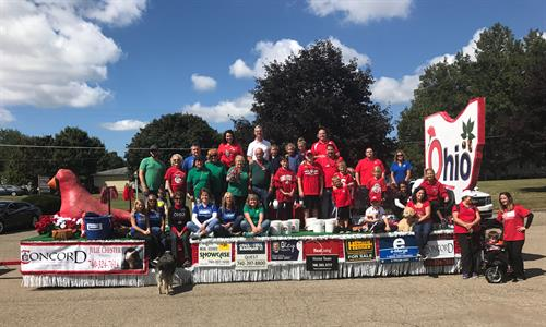 2018 Fredericktown Tomato Show Parade with Knox County Board of Realtors