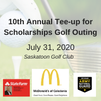 10th Annual 'Tee-up for Scholarships' Golf Outing 7/31/20