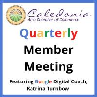 Chamber Quarterly Member Meeting 4/14/21