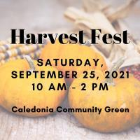 Caledonia Harvest Festival 2021