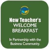 New Teacher's Breakfast