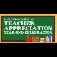Teacher Appreciation Celebration